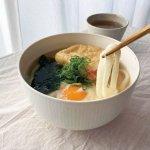 深山(miyama.) racca-ラッカ- 15.5cmボウル(丼ぶり)  ミルキーホワイト[美濃焼]