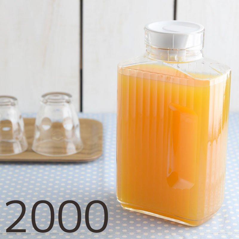 クアドール ガラスピッチャー 2000