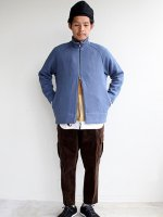 Curly/カーリー CLOUDY FZ SWEATER (BLUE GRAY)