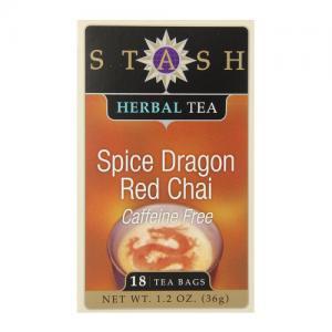 即納【STASH】おいしいスタッシュ紅茶カフェイン フリー ブレンドティー チャイ chai  ティーバッグ18個入