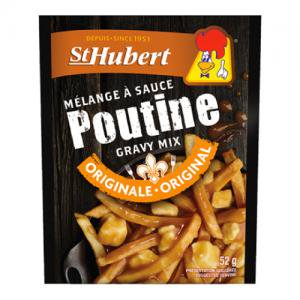 即納【St Hubert】カナダ B級グルメ Poutine プーティン グレービーソース52g 10人前