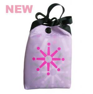 【香港お土産】カラフル!シティースーパー CitySuper エコバッグ ecobag 大 ラベンダー 薄紫 花柄