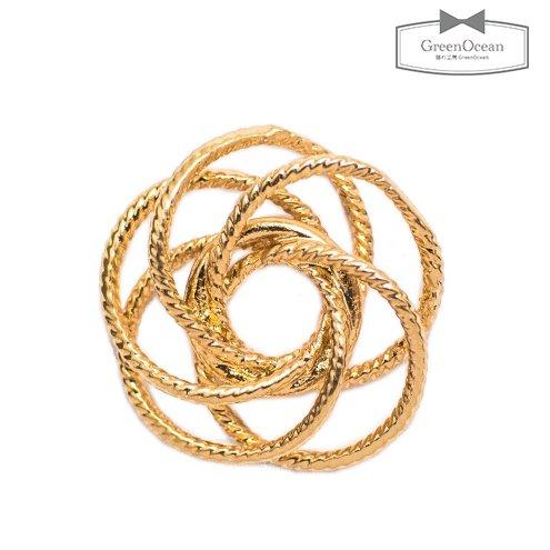 【コネクター】真鍮文様パーツ  《きれいめゴールド》 [コネクター,丸,ラウンド,花,飾り,ユニーク,繋げ…