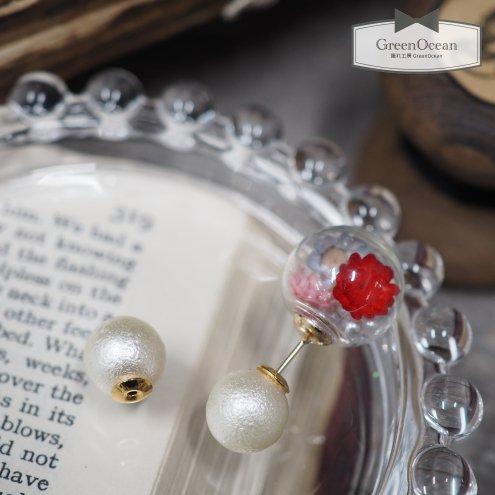 【ピアス・イヤリング】1ペア 10mmシュガーパール  ピアスキャッチ  《ホワイト×きれいめゴールド》 [砂糖,真珠,カバー,キャップ,アクセサリー,金具,バッ…