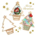 【空枠】クリスマスツリー 《きれいめゴールド》 [木,樹,植物,冬,ウィンター]
