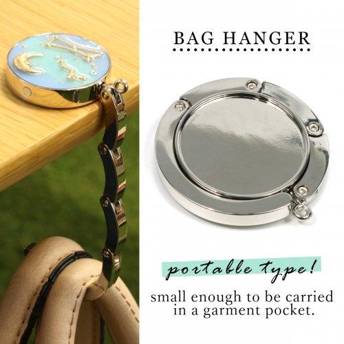 【デコ土台】バッグハンガー  《シルバー》 [BAG,カバン,鞄,かばん,掛ける,雑貨,セッティング]