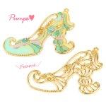 【空枠】プリンセス・パンプスG 《ゴールド》 [靴,ファンタジー,童話,ヒール,くつ,フレーム]