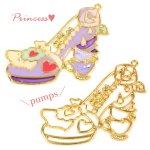 【空枠】プリンセス・パンプスA 《ゴールド》 [靴,ファンタジー,童話,ヒール,くつ,フレーム]