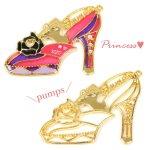 【空枠】プリンセス・パンプスB 《ゴールド》 [靴,ファンタジー,童話,ヒール,くつ,フレーム]
