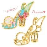 【空枠】プリンセス・パンプスC 《ゴールド》 [靴,ファンタジー,童話,ヒール,くつ,フレーム]