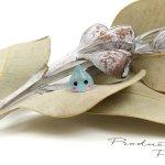◎【デコパーツ】森の妖精しずくちゃん《水色ラメ》[雫,滴,貼り付け,デコ,きらきら,かわいい]