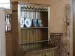 ◎△お急ぎ便不可△ アイリッシュのオールドパインカップボード 1890年代 イギリスアンティーク家具
