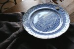 ◎△お急ぎ便不可△ イギリスアンティーク食器 ウォームプレート(皿) COPELAND 1830年代 et141261