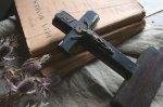 ◎△お急ぎ便不可△ フランスアンティーク キリスト像 十字架 クロス