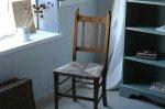 ◎△お急ぎ便不可△ クローバー模様のアンティークチェア アーツ&クラフツ 1900年代椅子 イギリスアンティーク家具