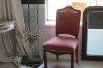 ◎△お急ぎ便不可△ イギリスアンティーク家具 ベッドサイドチェア 1930年代椅子