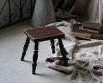 ◎△お急ぎ便不可△ イギリスアンティーク家具 ペイントスツール 小さな椅子