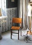◎△お急ぎ便不可△ 素朴なスクールチェア 子供椅子 イギリスアンティーク家具 ef141030