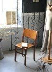 ◎△お急ぎ便不可△ 色々な用途で楽しめる子供椅子 スクールチェア イギリスアンティーク家具 ef141127