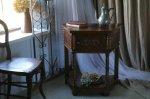◎△お急ぎ便不可△ 彫り模様がとっても素敵な1930年代オーク材コンソールテーブル イギリスアンティーク家具