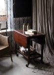 ◎△お急ぎ便不可△ 1930年代のマホガニー材ティーワゴン テーブル イギリスアンティーク家具