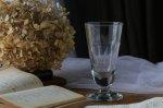 ◎△お急ぎ便不可△ ボウル部分が長いワイングラス フランスアンティークガラス食器