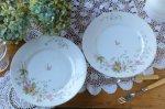 ◎△お急ぎ便不可△ 素敵な絵が描かれたフレンチコンポート フランスアンティーク食器 陶器