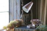 ◎△お急ぎ便不可△ ピンク色のデスクランプ イギリスアンティーク照明(ライト)  el161014