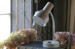 ◎△お急ぎ便不可△ 1950年代クリーム色のデスクランプ イギリスアンティーク照明(ライト) el101038