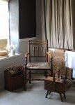 ◎△お急ぎ便不可△ イギリスアンティーク家具 ストローのアームチェア 椅子 1890年代