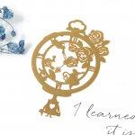 【メタルチャーム】不思議の国のアリス ガーデン《きれいめゴールド》[懐中時計,ウサギ,ワンダーランド,王妃,お姫様,シンデレラ,人魚姫,ティンカーベル,夢の国,薄い,透かし,童話,手芸]