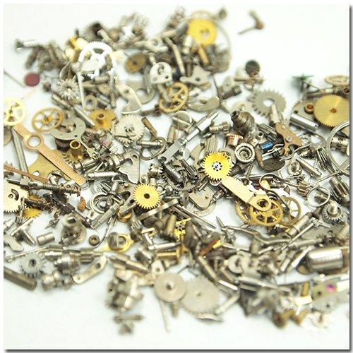 【本物の時計パーツ】6g 極小サイズ [時計部品,ギア,歯車,watch parts]●◇