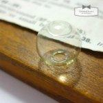 【ガラスドーム】円形15mm (ガラスのみ)  《クリア》 [瓶,ビン,ボトル,グラス,テラリウム,まる,円,ラウンド,丸,バルブ]