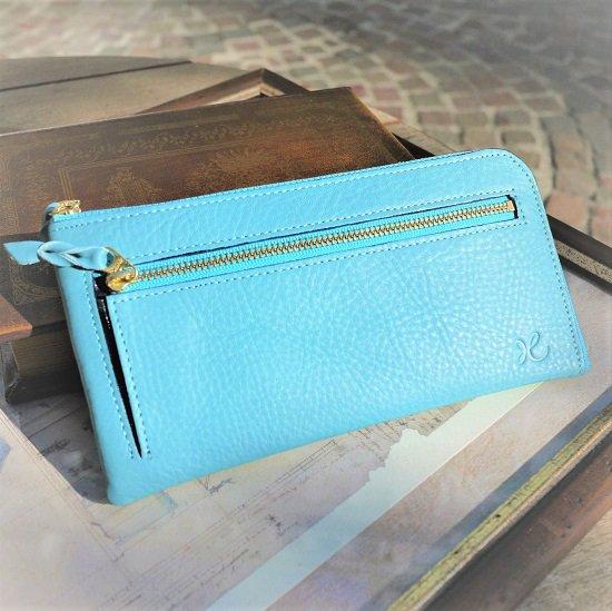 L型長財布(ホライズンブルー)