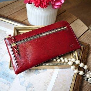 L型長財布(イタリアンレッド)