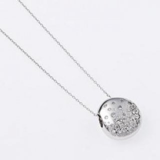【販売終了】レイディバグ K18WGとK18PGのダイヤモンドペンダントネックレス