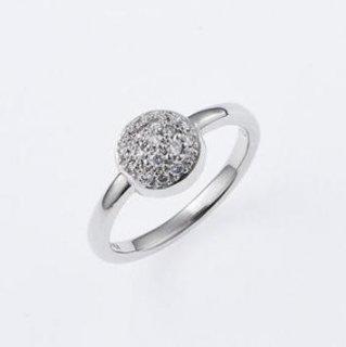 【販売終了】ピップスキッス リング ダイヤモンド0.216ct K18
