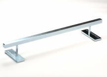 BLACKRIVER Ironrail square low silver