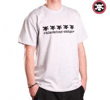 +BRR+ T-Shirt 5Skullswhite