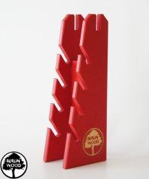 Berlinwood Fingerboard Rack Red