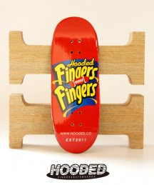 Hoodeck / FINGERFINGER RED【指スケ】