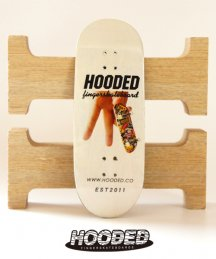 Hoodeck / ALL PEACE WHITE【指スケ】