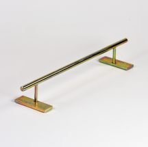 +blackriver-ramps+ Ironrail round low gold