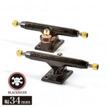 BLACKRIVER TRUCKS X-Wide 2.0 black/black 34mm【トラック】