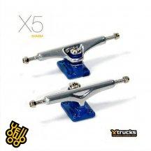 YTRUCKS CHROME/BLUE X5【34mm】【指スケ】
