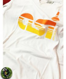ASi Berlin「ASI STRIPES」White Tシャツ