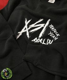 ASi Berlin 「ASI TEAM SWEATSHIRT」B/K クルーネックスウェット