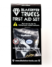 BLACKRIVER TRUCKS First Aid Single Base BLACK