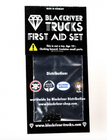 BLACKRIVER TRUCKS First Aid Screws black