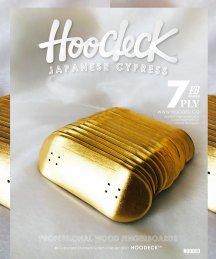 HOODECK2021【 金箔BLANK 】ストリートシェイプ!